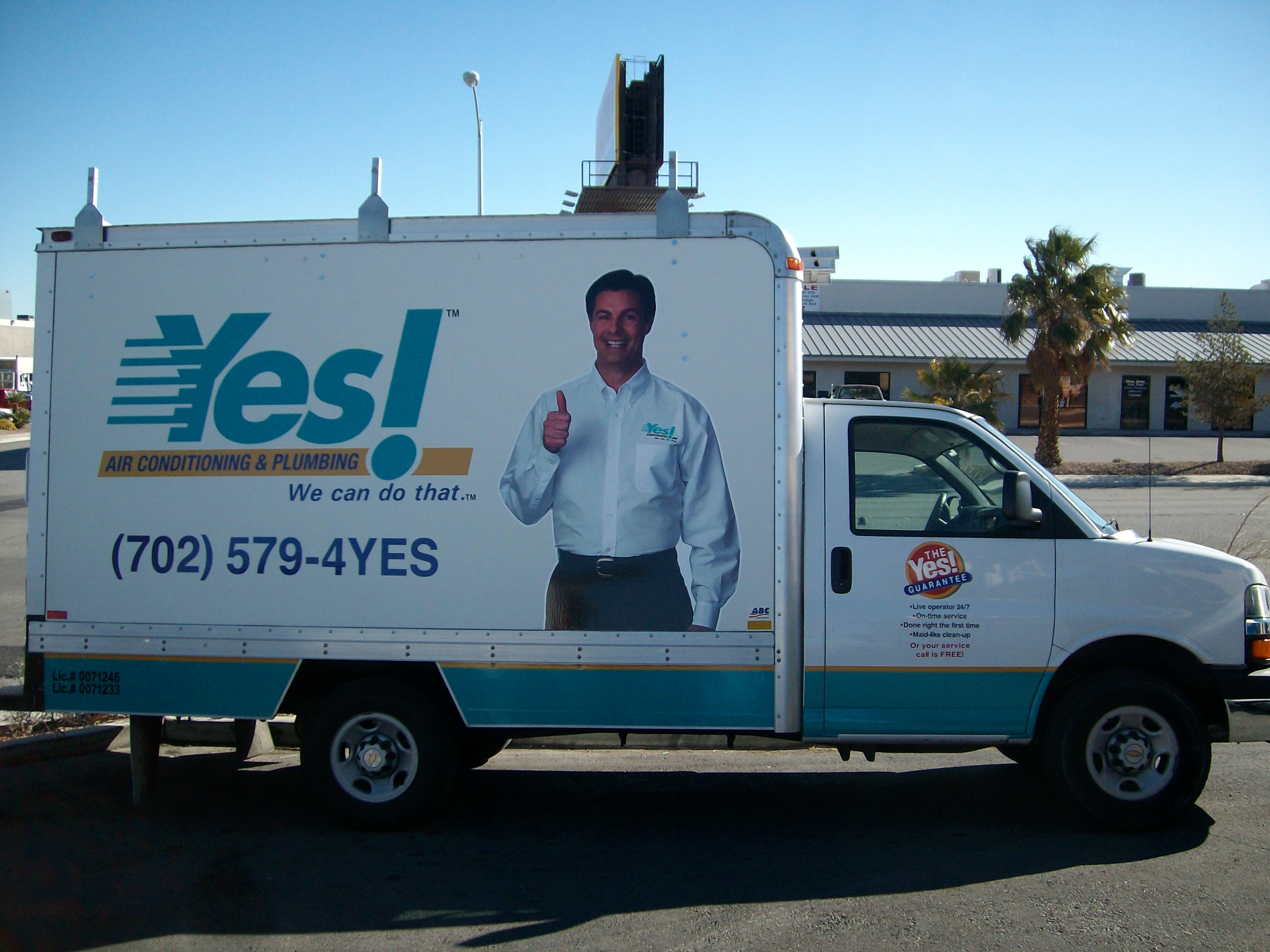 Yes Plumbing Custom Fleet