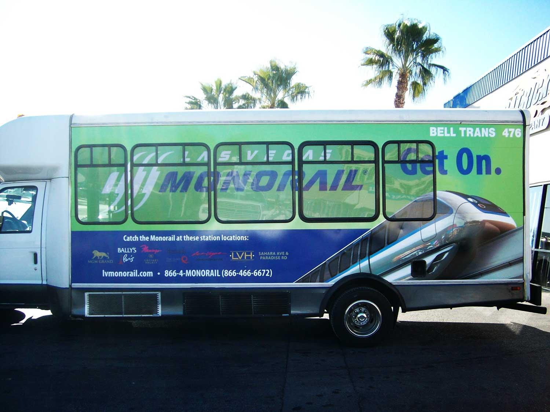 Bus Shuttle Wraps