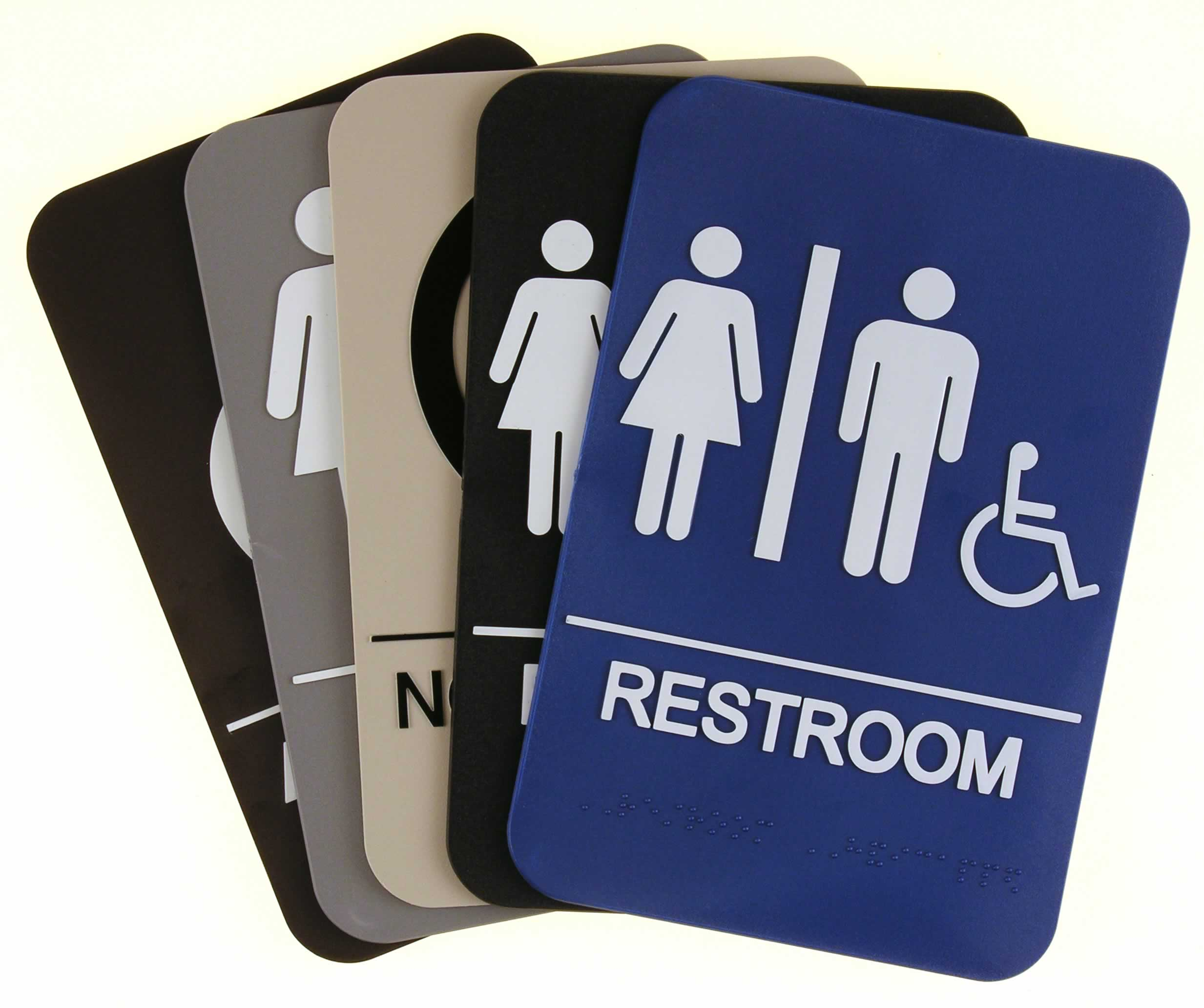 ADA Signs - Ada compliant bathroom signs
