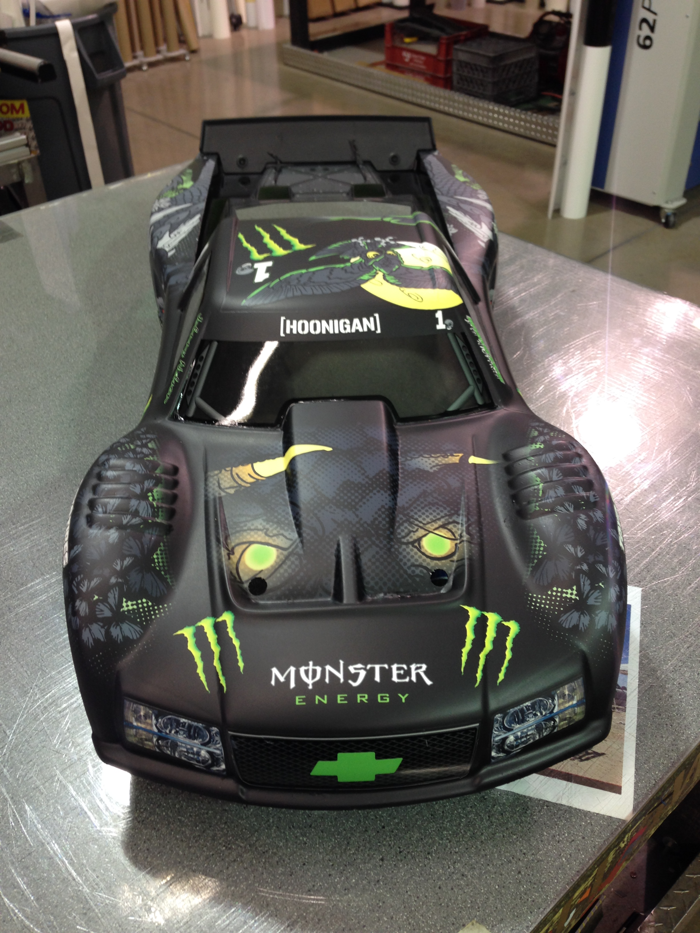 Race Graphics - Custom vinyl decals for rc cars